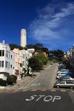 Torretta di Coit, San Francisco Fotografia Stock Libera da Diritti