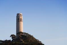 Torretta di Coit a San Francisco Fotografia Stock