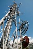 Torretta di comunicazione: GSM, Umts, 3G e radio Immagine Stock Libera da Diritti