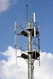 Torretta di comunicazione su mezzi mobili Fotografie Stock Libere da Diritti
