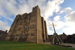 Torretta di conservazione del castello di Dover Fotografia Stock