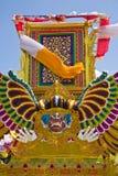 Torretta di cremazione di Balinese fotografie stock libere da diritti