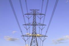 Torretta di elettricità Fotografie Stock Libere da Diritti