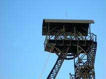 Torretta di estrazione mineraria Immagine Stock
