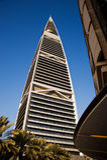Torretta di Faisaliah di AL Fotografia Stock