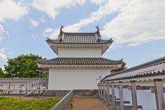 Torretta di Fujimi del castello di Utsunomiya, prefettura di Tochigi, Giappone Fotografia Stock Libera da Diritti