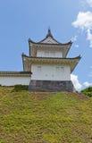 Torretta di Fujimi del castello di Utsunomiya, prefettura di Tochigi, Giappone fotografie stock