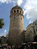 Torretta di Galata a Costantinopoli fotografia stock libera da diritti