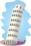 Torretta di inclinzione di Pisa Fotografie Stock Libere da Diritti