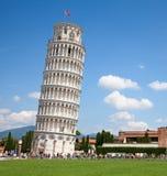 Torretta di inclinzione di Pisa Fotografie Stock