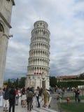 Torretta di inclinzione di Pisa in Italia Fotografia Stock