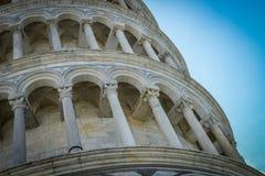 Torretta di inclinzione di Pisa Fotografia Stock