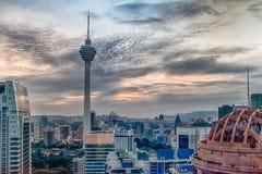 Torretta di Kuala Lumpur Immagini Stock