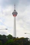 Torretta di Kuala Lumpur TV Fotografia Stock Libera da Diritti