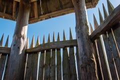 Torretta di legno dell'allerta Fotografia Stock Libera da Diritti