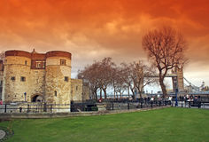Torretta di Londra Fotografie Stock