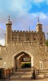 Torretta di Londra, Inghilterra Fotografia Stock