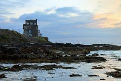 Torretta di Martello Portmarnock Fotografie Stock