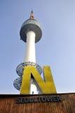Torretta di N Seoul Fotografia Stock