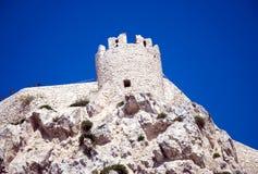 Torretta di Nicola del san - isole di Tremiti immagine stock libera da diritti