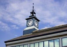 Torretta di orologio Fotografie Stock