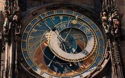 Torretta di orologio Fotografia Stock