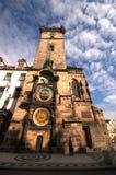 Torretta di orologio astronomica fotografia stock libera da diritti