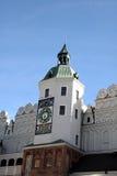 Torretta di orologio - castello dei duchi di Pomeranian - la Polonia Fotografie Stock