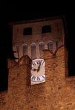 Torretta di orologio del castello Fotografie Stock Libere da Diritti