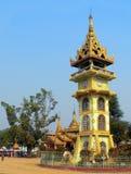 Torretta di orologio della Birmania a Paleik Immagini Stock Libere da Diritti