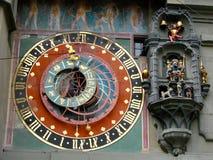 Torretta di orologio di Berna Immagini Stock