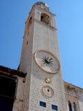 Torretta di orologio di Dubrovnik Immagine Stock