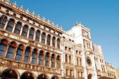 Torretta di orologio di Venezia Fotografia Stock Libera da Diritti