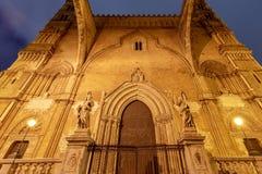Torretta di orologio di Palermo Cathedral sicily immagine stock