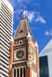 Torretta di orologio - Perth WA Fotografie Stock Libere da Diritti