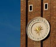 Torretta di orologio a Venezia Fotografia Stock Libera da Diritti