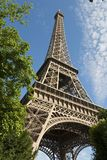 Torretta di Parigi-Eiffel Fotografia Stock