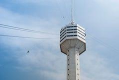 Torretta di Pattaya alla città di Pattaya Fotografie Stock