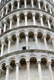Torretta di piegamento di Pisa Fotografia Stock Libera da Diritti