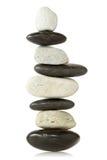 Torretta di pietra equilibrata Fotografia Stock
