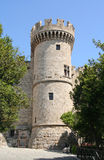 Torretta di pietra medioevale Immagine Stock Libera da Diritti