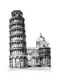 Torretta di Pisa Immagini Stock