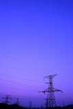 Torretta di potenza Fotografia Stock