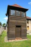 Torretta di protezione Auschwitz Fotografia Stock Libera da Diritti