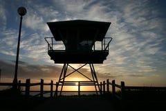 Torretta di protezione di vita di Cronulla Fotografia Stock Libera da Diritti