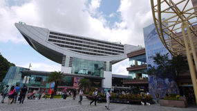 Torretta di punta, Hong Kong Immagine Stock