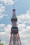 Torretta di radiodiffusione di NHK, Sapporo, Hokkaido, Giappone Immagini Stock Libere da Diritti