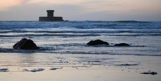 Torretta di rocco della La in Jersey   Fotografia Stock