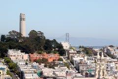 Torretta di San Francisco Coit Fotografia Stock Libera da Diritti