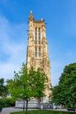 Torretta di San-Jacques, Parigi, Francia immagine stock libera da diritti